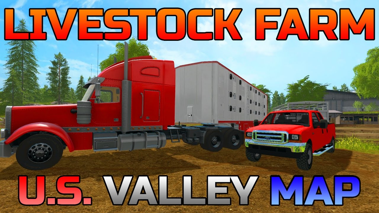 FARMING SIMULATOR SETTING UP LIVESTOCK FARM US VALLEY - Best truck maps us
