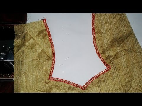 Star Neck Designs For Blouses And Dress/Kameez/Kurti..