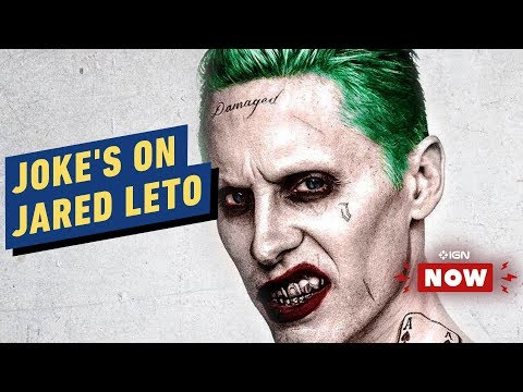 Jared Leto's Days as the Joker Are Reportedly Over - IGN Now