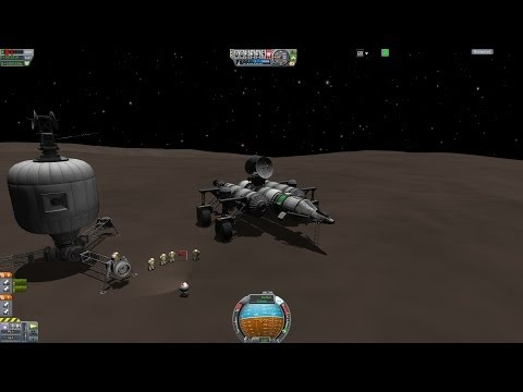 Conquering Moho - Orbital Construction Project