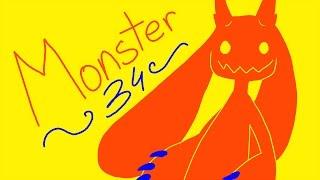 Monster - Lineart/Silhouette OC MAP // Part 34