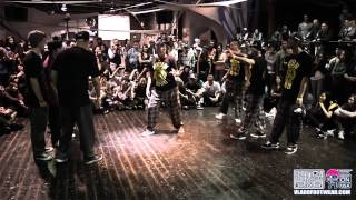 Showdown L.A. 4 x K.O.D . U.S.A POPPING Final Battle