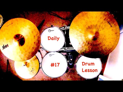 Basic Drum Lesson: How To Play Sixteenth Notes