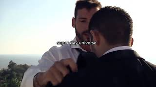 GAY KISS GAY KISSING GAY LOVE GAY COUPLE MEN GUYS BOYS MALE SU…