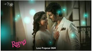 #SivakarthikeyanBgm #Remo Love Proposal BGM | Music Addict | Remo Movie Bgm Ringtones Music