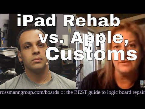 LIVE interview with Jessa Jones - Apple/customs parts SEIZURE!