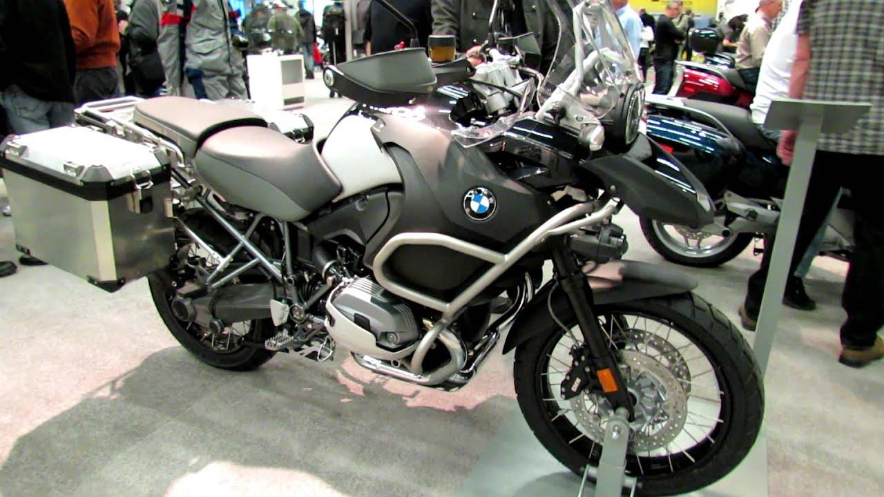 2012 bmw r1200gs adventure at 2012 montreal motorcycle - Salon de moto montreal ...