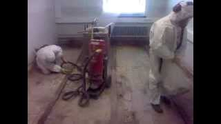 Asbestipurun jälkeinen siivonta, cleaning up after a asbestos removal