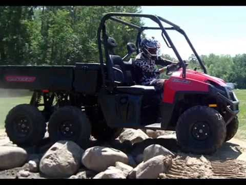 2015 Polaris Ranger >> 2015 Polaris Ranger 6x6 - YouTube