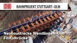 Bau der Filstalbrücke - Impressionen
