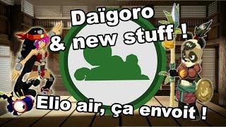 Dofus - Daïgoro (premier & pusillanime) - Elio air monocompte, nouveau stuff !