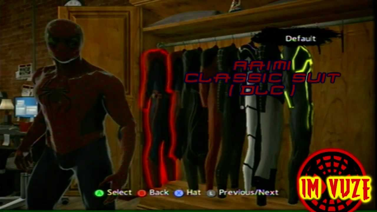 The Amazing Spider Man Game All Costumes And Locationsxbox 360