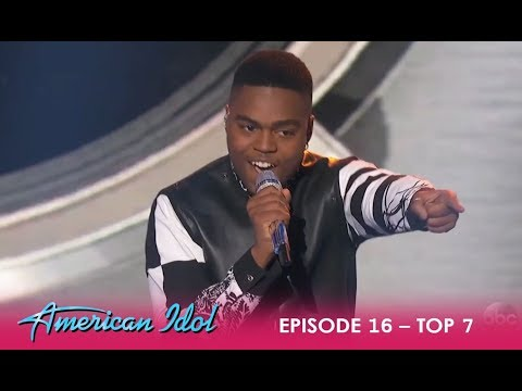 Michael J. Woodard: Blows The ROOF Off With Prince Performance | American Idol 2018