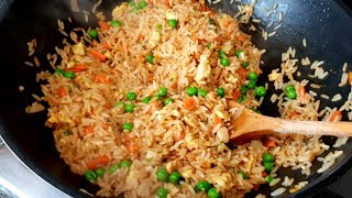 HOW TO MAKE A DELICIOUS CHINESE FRIED RICE RECIPE