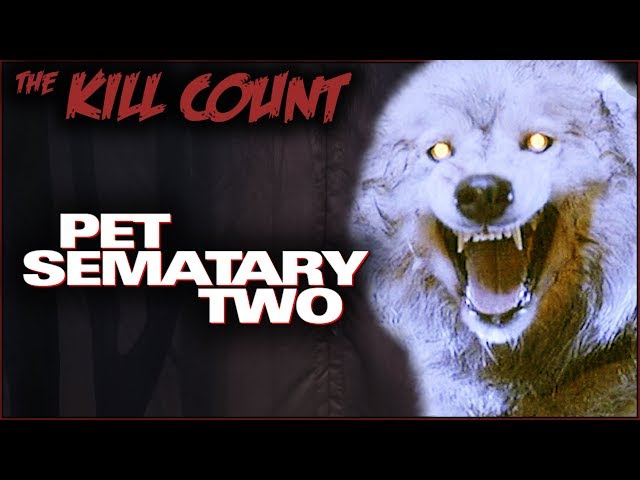 Pet Sematary Two (1992) KILL COUNT
