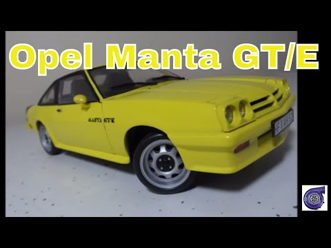 opel manta gt e by revell models 1 18 scale modified. Black Bedroom Furniture Sets. Home Design Ideas