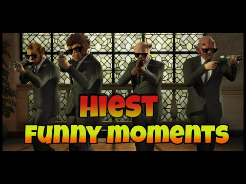 GTA 5 Online Prison Heist Funny Moments (Bullshit Bronzes,Hiest Fails and More)