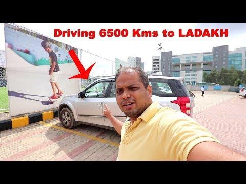 Bangalore to Ladakh DRIVE starts Tomorrow