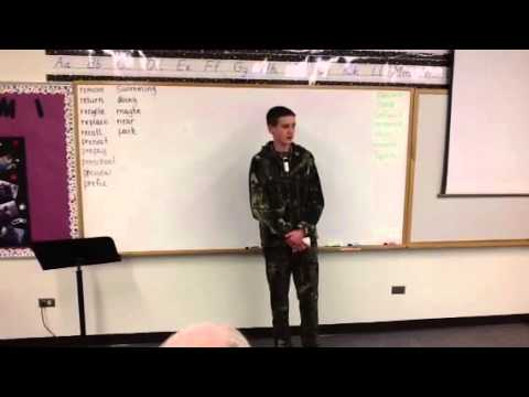 Informative Speech Assignment- The Benefits Of Hunting