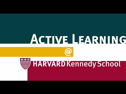 Active Learning @ Harvard Kennedy School on YouTube