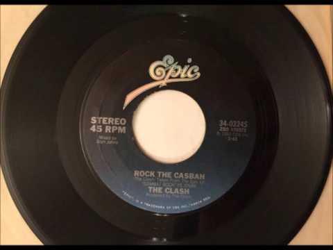 Rock The Casbah , The Clash , 1982 Vinyl 45RPM