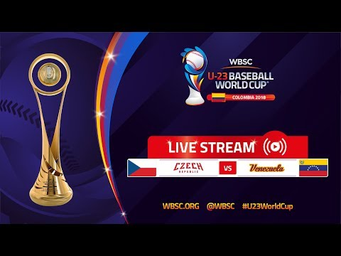 Czech Republic v Venezuela – U-23 Baseball World Cup 2018