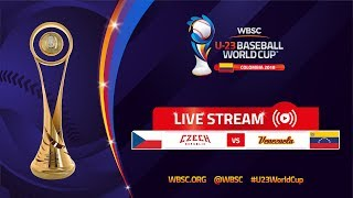 Czech Republic v Venezuela – U-23 Baseball World Cup 2018