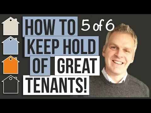 How To Keep Good Tenants in Your Investment Property ¦ Landlord Property Basics With Tony Law