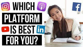WHICH SOCIAL MEDIA PLATFORM IS BEST FOR YOU? 🤔 (HOW TO GET MORE CLIENTS AND SALES!)