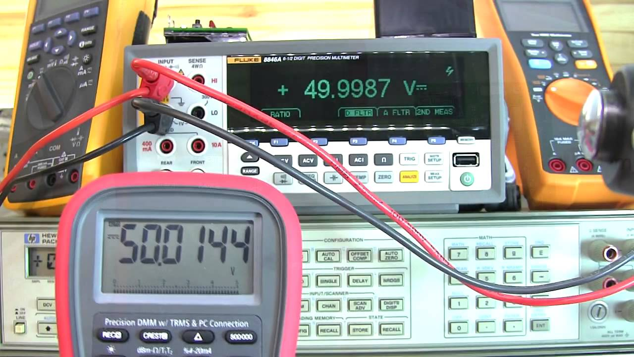 Multimeter Calibration: Amprobe AM-160-A / Brymen BM859CFA / Brymen TBM867  / BM869