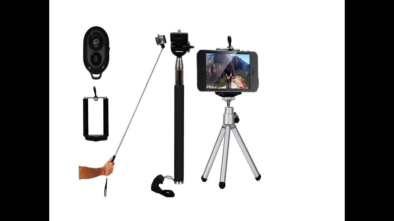 xcsource monopod selfie stick handheld tripod bluetooth dc494 review youtube. Black Bedroom Furniture Sets. Home Design Ideas