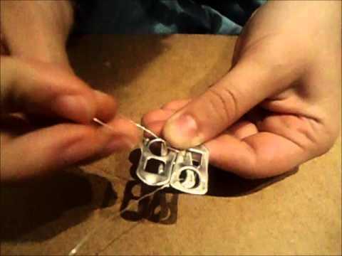 3484dbaaac2bb Armband aus Dosenverschlüssen - YouTube