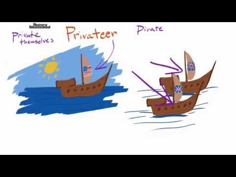 Privateer - Pirate Definition for Kids