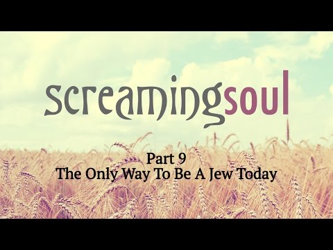 The Only Way To Be A Jew Today - Screaming Soul P9 - Rabbi Manis Friedman