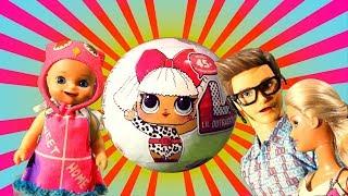 Лол сюрприз для Люси из магазина игрушек - Lol surprise Ball from the toy store