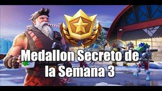 Week 3 Secret Medal Season 7 Fortnite Battle Royale