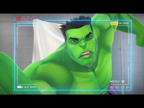 Marvel Avengers Academy: Character Trailer