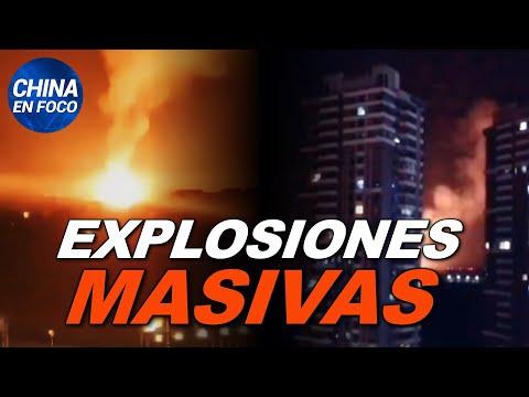 Explosiones masivas sacuden la capital de China. Pánico bancario desata corridas | China en Foco