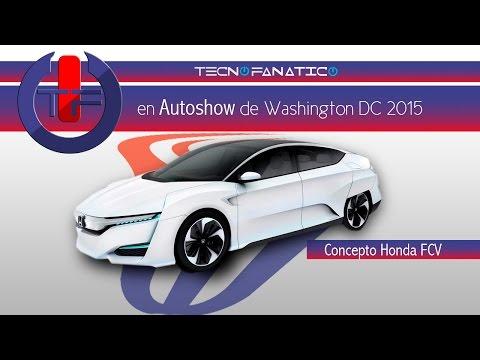 Auto Show Washington DC Concepto Honda FC V