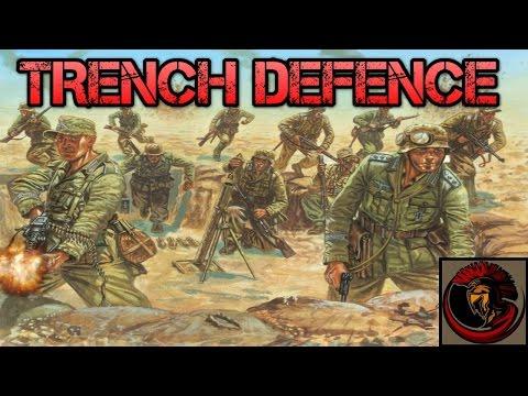 Tank Warfare: Tunisia 1943 - GERMAN TRENCH DEFENCE