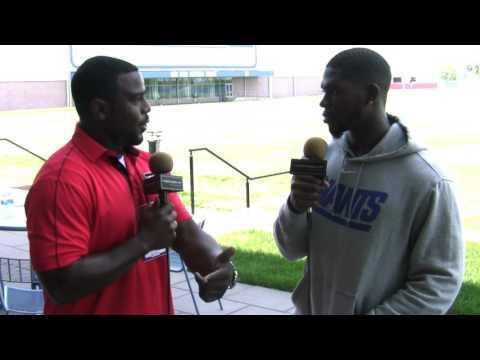Football Gameplan's 2017 New York Giants Mini Camp Interview: Khalid Abdullah