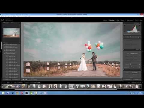 การแต่งภาพ Tone Pastel Lightroom 5