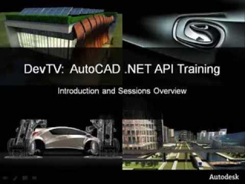 AutoCAD NET API Training - Introduction
