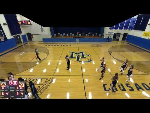 Morris Catholic vs. Academy of Saint Elizabeth JV Varsity Womens' Basketball