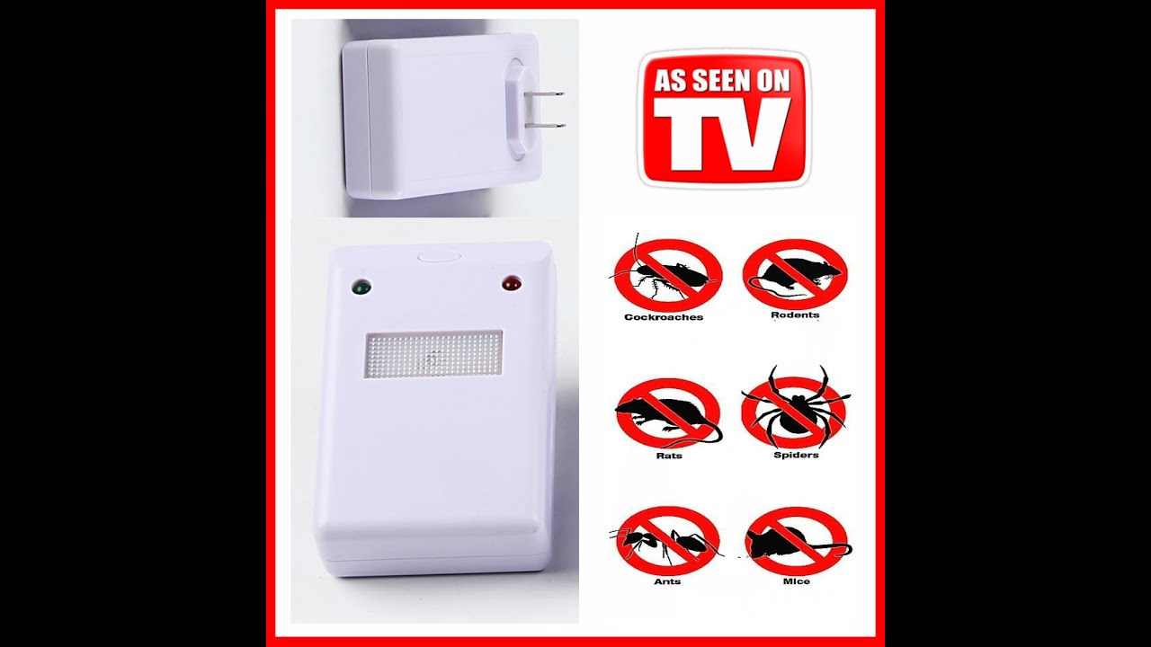 Electronic Ultrasonic Pest Control Repeller Repellent Device