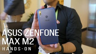 Budget offering with the metal constructed Asus Zenfone Max M2 [hands-on]