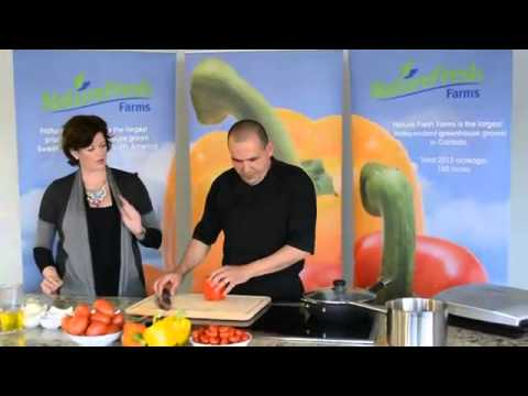 Roasted Bell Peppers - NatureFresh Test Kitchen