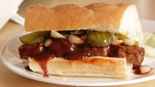 McDonalds McRib Sandwich - Homemade Vegan/Vegetarian