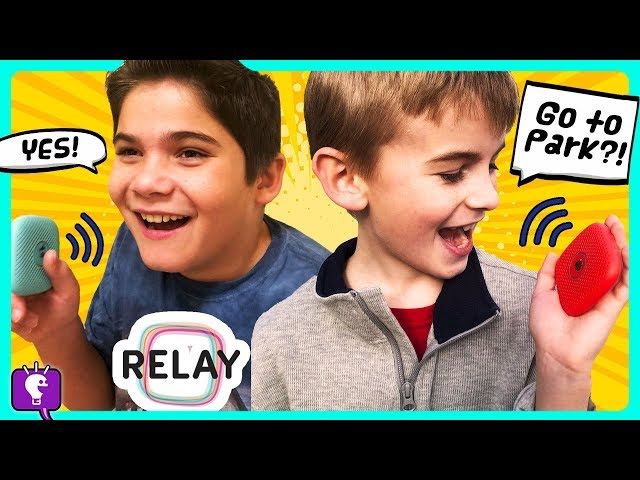 WHERE ARE HOBBYKIDS GOING? It's time for a Playground CHALLENGE with Relay!