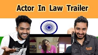 Indian reaction on Actor In Law Trailer | Swaggy d